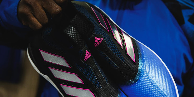 the best attitude 9dd61 f93d9 Continuing to churn out insanely looking football boots, Adidas this  morning presented the new Ace Tango 17+ PureControl indoor and turf soccer  shoes in the ...