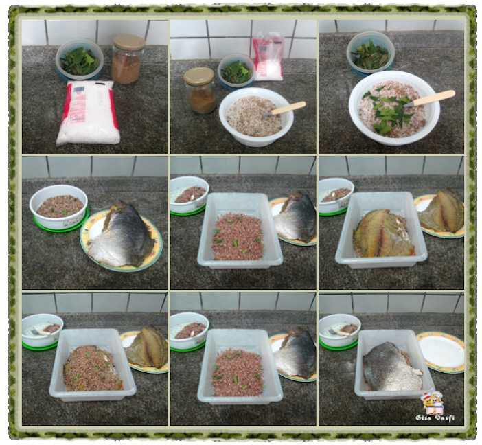 Defumando peixes em casa 8