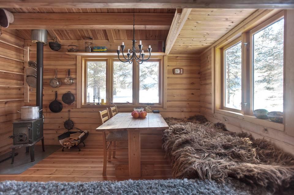 Tiny House Town Norwegian Ski Cabin 118 Sq Ft