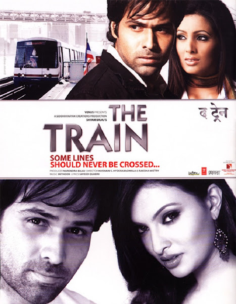 Poster of The Train 2007 480p Hindi DVDRip Full Movie Download