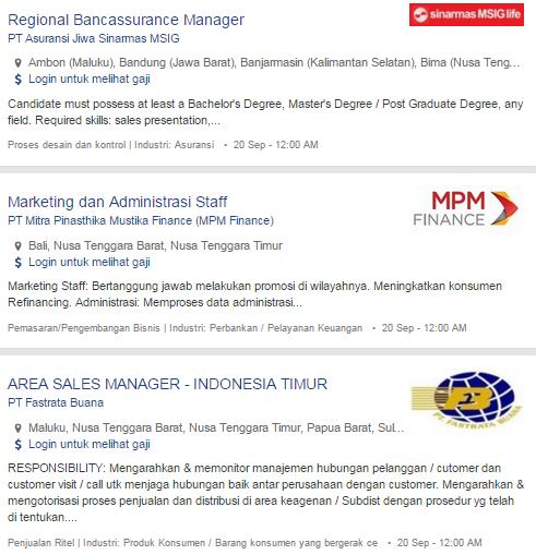 Bulan Ini – Lowongan Kerja Lombok Timur NTB Terbaru 2019