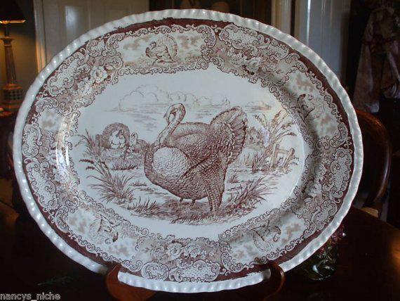Mod Vintage Life Turkey Platters
