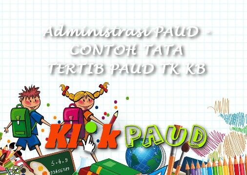 Administrasi PAUD - CONTOH TATA TERTIB PAUD TK KB