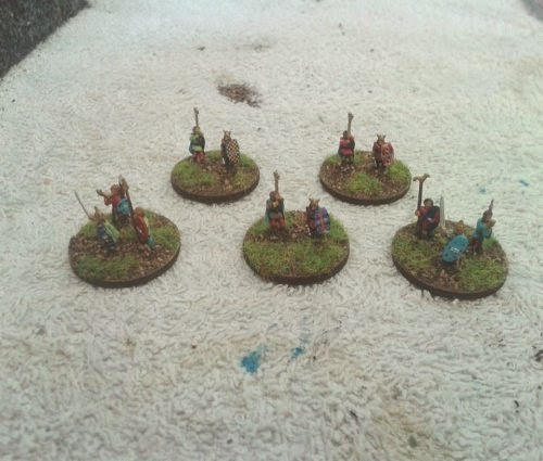 8 Gallic/Celtic commands this except one last warband and a couple of tiny bits completes my gauls picture 1