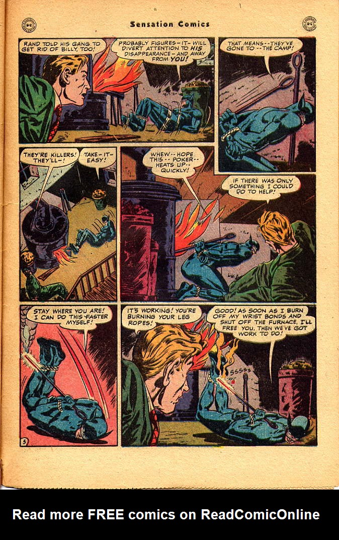 Read online Sensation (Mystery) Comics comic -  Issue #83 - 47