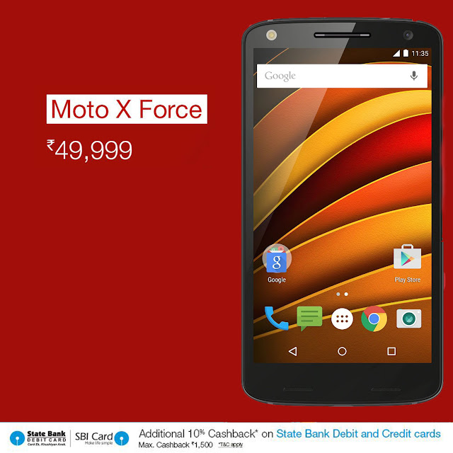Moto X Force Price, Moto X Force review, Moto X Force specs, Amazon India Coupons, Top 10 mobiles, Best selling mobiles, Amazon India Mobiles, Amazon Mobile, Amazon coupons, Mobile offers, Top Mobiles to Buy,
