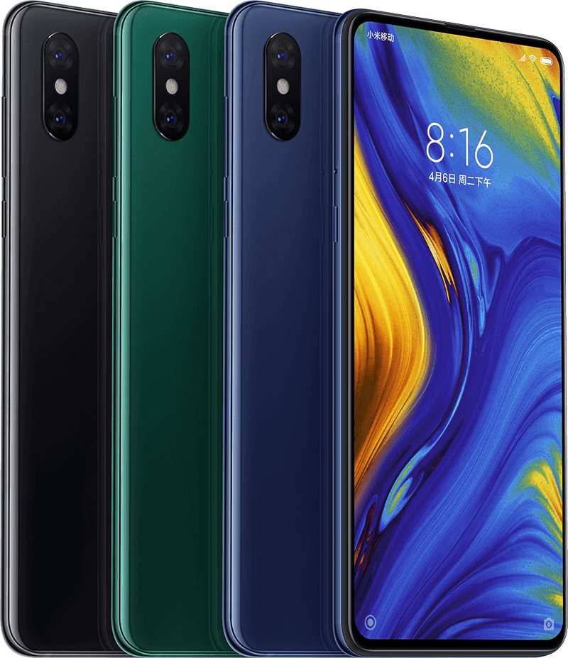 The Xiaomi Mi Mix 3 is now official