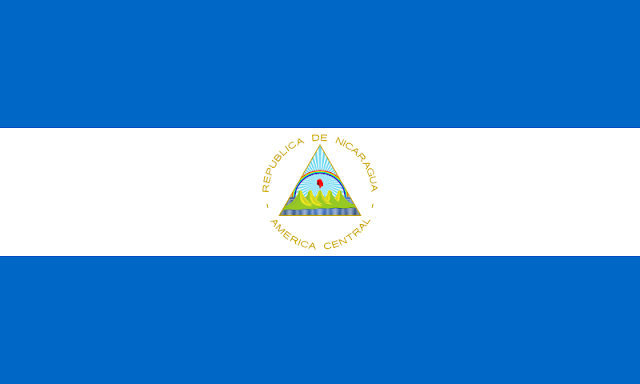 Bendera negara Nikaragua