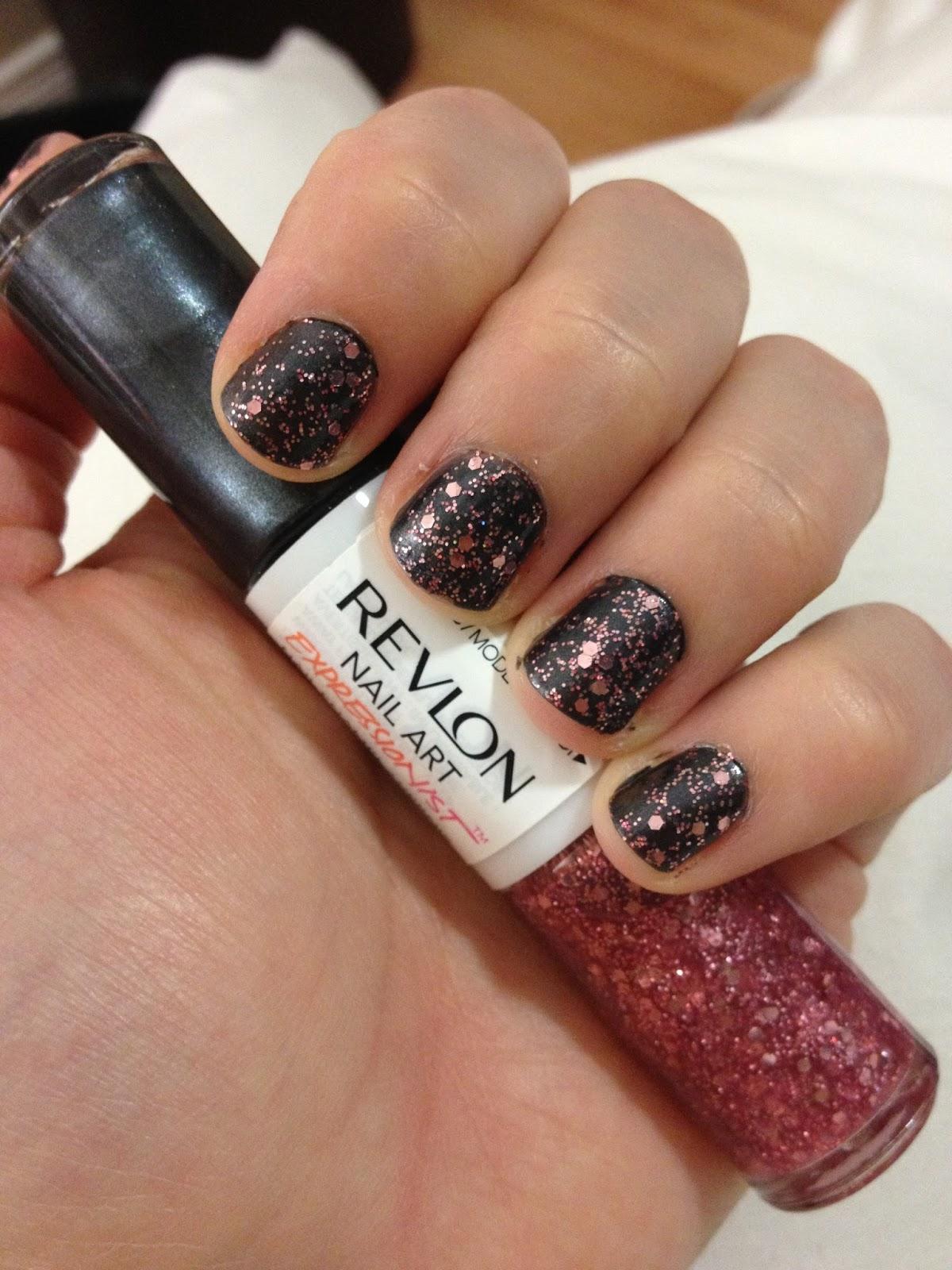 5def2b6048 Ruffles and Truffles: Revlon Nail Art Expressionist