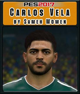 PES 2017 Faces Carlos Vela Sameh Momen
