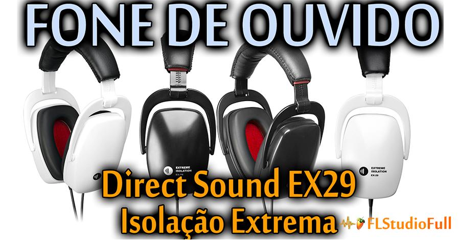 Fone de Ouvido Direct Sound EX-29 [Isolação Extrema | Melhor fone para bateristas] EQ#01