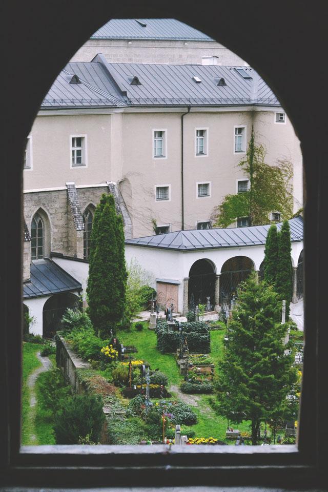 St Peter's Graveyard Salzburg Austria