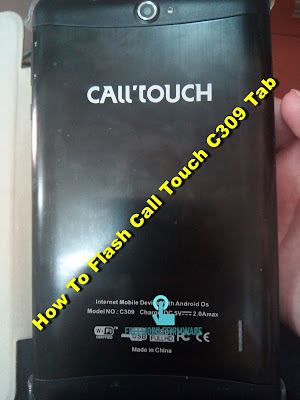 How To Flash Call Touch C309 Tab KitKat 4.4.2 Tested Free Firmware