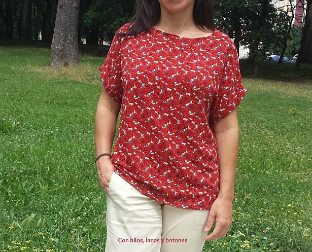 Con hilos, lanas y botones: Blusa Mimí - Non dago titarea?