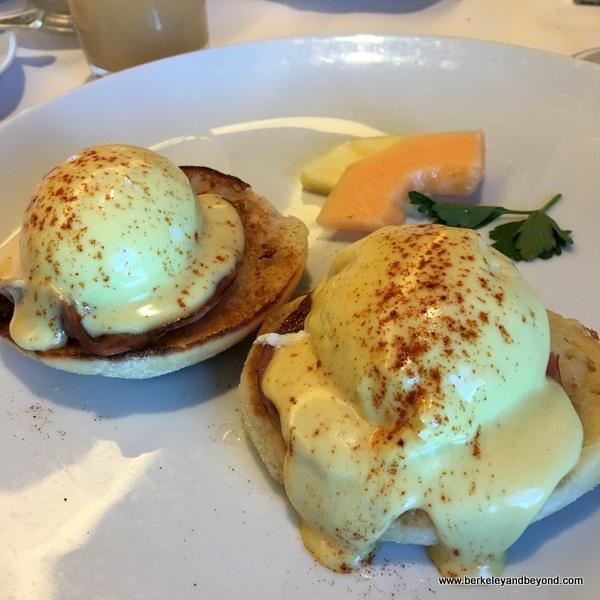 eggs Benedict aboard Holland America Line's Nieuw Amsterdam