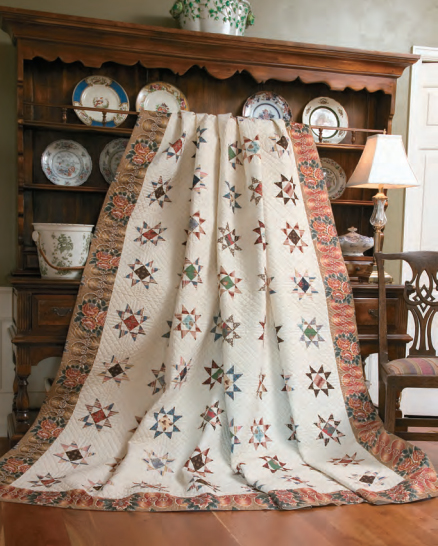 Susquehanna Stars Quilt Free Pattern designed by Quilting Company