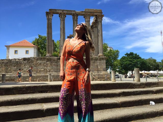 Évora Portugal templo romano