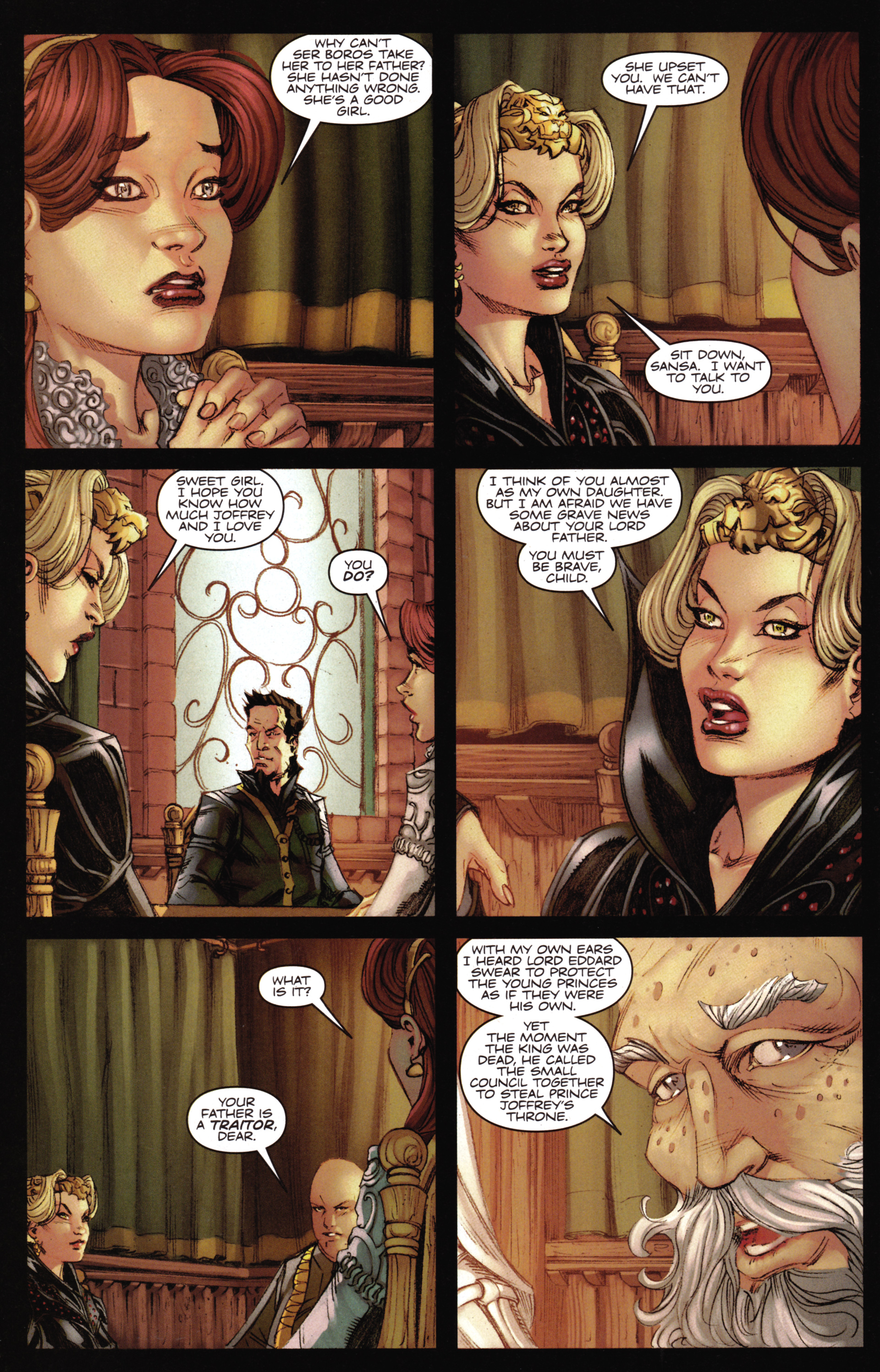 Read online A Game Of Thrones comic -  Issue #16 - 28