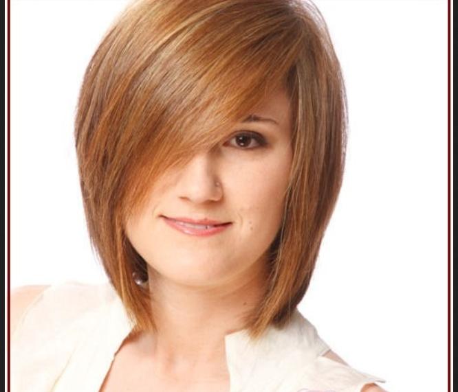 Potongan Rambut Untuk Wajah Bulat Dan Gemuk