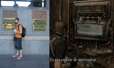 re4 resident evil 4 hd project remaster look familiar real life photos