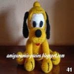 patron gratis perro plutoamigurumi, free amiguru pattern dog pluto