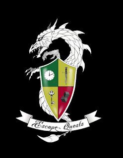 Escape Quest logo design BLK