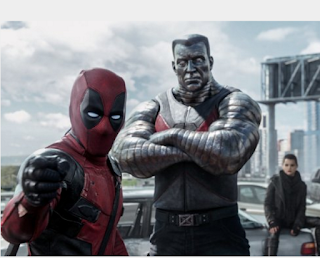 Deadpool and X-men's Collossus