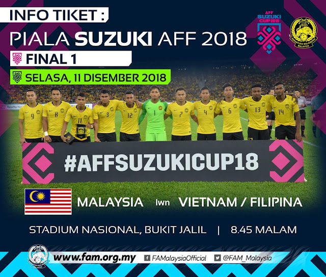 Live Streaming Malaysia vs Vietnam Final 1 AFF Suzuki 2018 (11.12.2018)