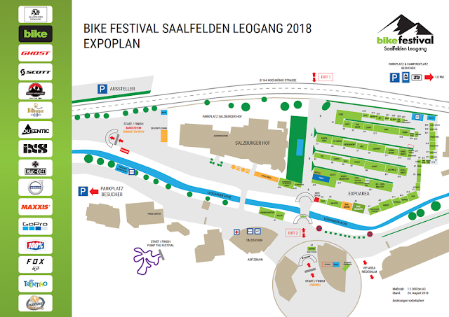 Bikefestival Leogang 2018 Plan