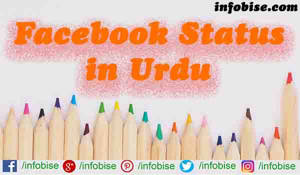60 Awesome Facebook Status in Urdu/Hindi