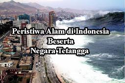 Peristiwa Alam di Indonesia Beserta Negara Tetangga