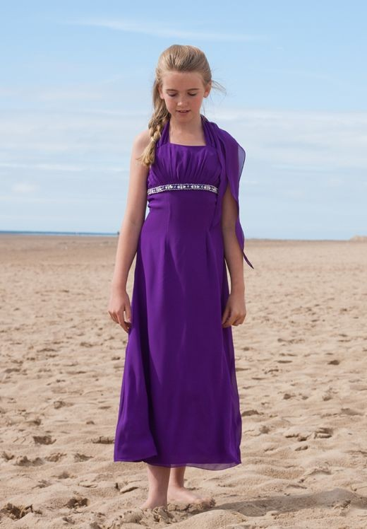 Purple Occasion Dress: Junior Purple Bridesmaid Dresses ...