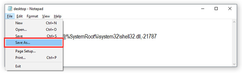 Solusi Notepad Windows Start up [.ShellClassInfo] LocalizedResourceName=@%SystemRoot%\system32\shell32.dll,-21787