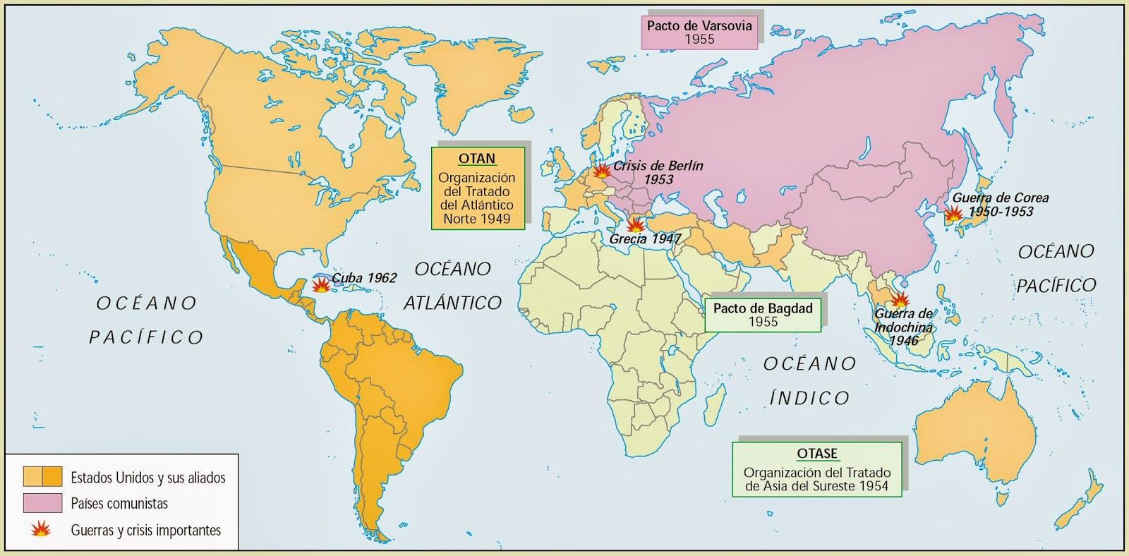 La Geografia Del Mundo Proceso Historico Del Espacio
