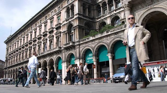 Passe na cidade de Milão