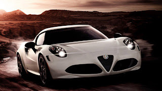 Dream Fantasy Cars-Alfa Romeo 4C Launch Edition