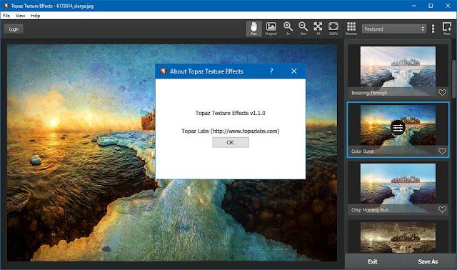 Topaz Texture Effects 1.1.0 Crack