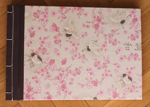 Album encuadernación japonesa