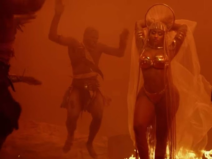 Nicki Minaj Still from Ganja Burn Album #NickiMinaj #Ganja #Burn #GanjaBurn ##GanjaBurnNickiMinaj Nicki Minaj
