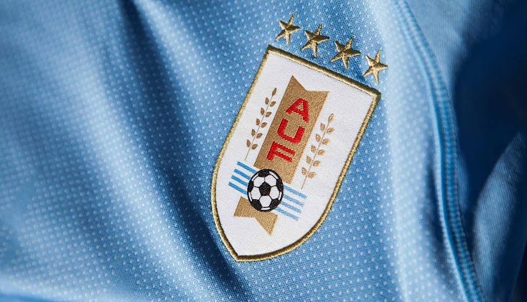 2d21f0e1f The Puma Uruguay 2018 World Cup home jersey is expected to be using the  same font as Italy s.