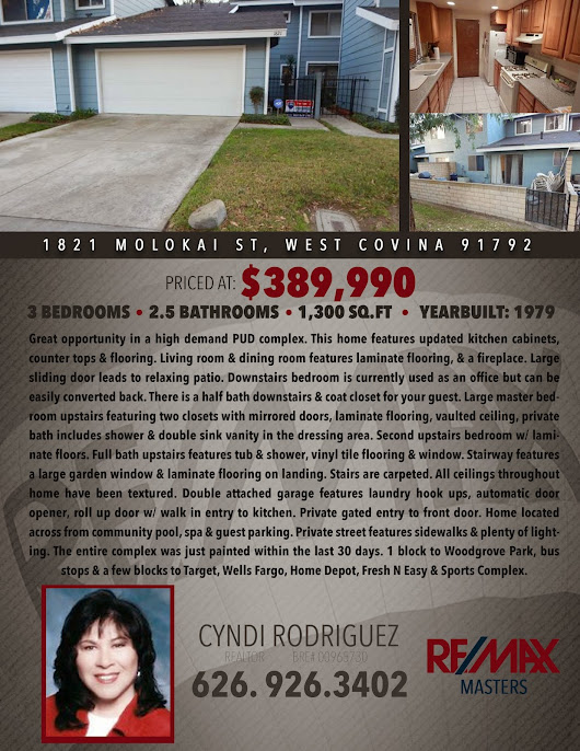 West Covina Home for Sale