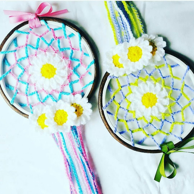 inked hibiscus designs daisy dreamcatcher