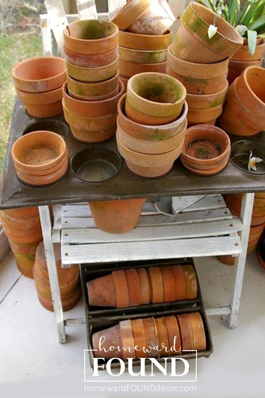 Raid the Garden Shed for Spring Decor! homewardFOUND decor