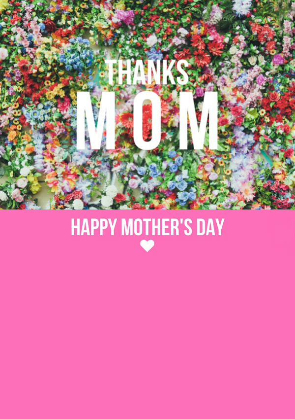 Printable Mother's Day Card for your favorite lady!