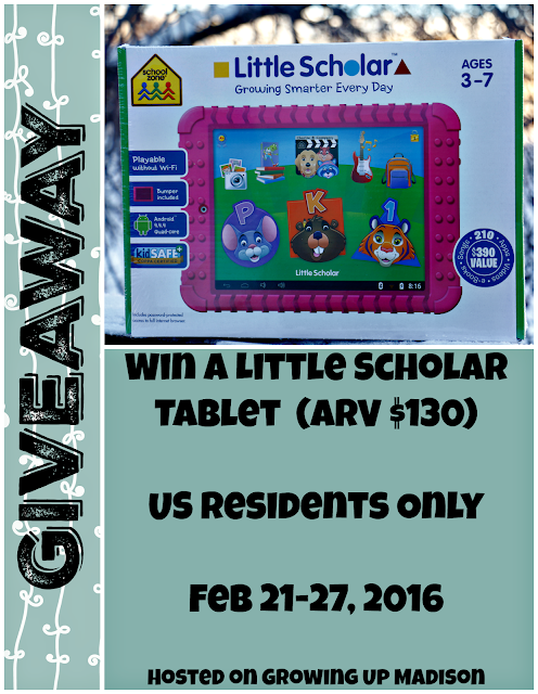 Little Scholar Tablet Giveaway
