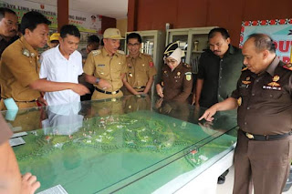 Kunker Kajati Lampung, Bupati Lambar Minta Dukungan Terkait Program Pembangunan Lambar