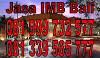 Jasa IMB Badung Denpasar Gianyar Tabanan