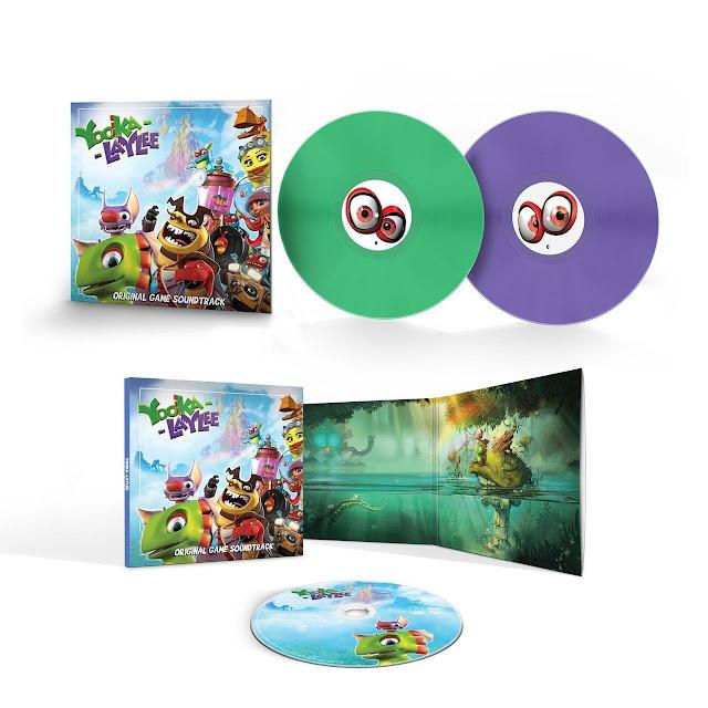 Ya podéis comprar la banda sonora de Yooka-Kaylee tanto en formato físico como en digital
