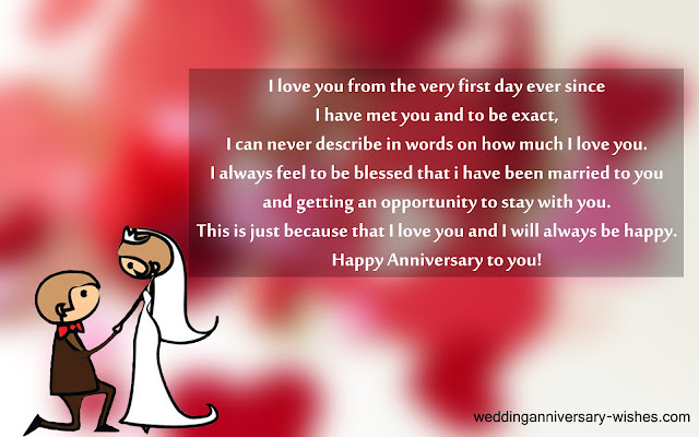 Wedding anniversary quotes for your husband wishes & messages