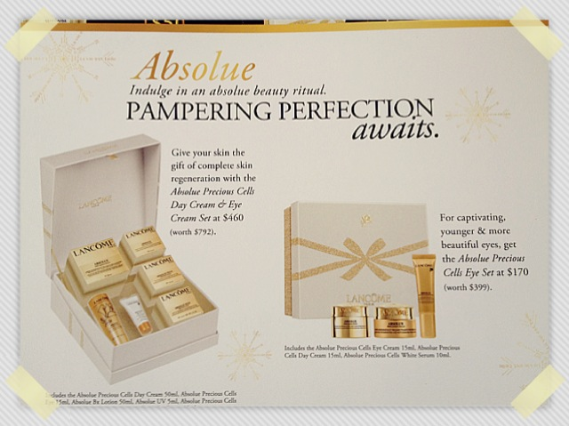 Jie Jie's beauty diary: Happy Holidays Beauty Sets by Lancôme